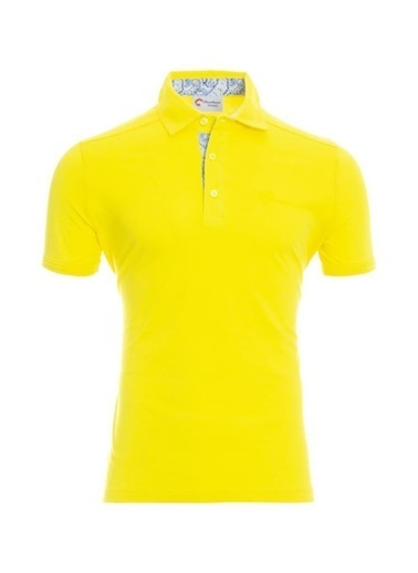 Panthzer  Toluca Erkek  Polo T-Shirt Sarı